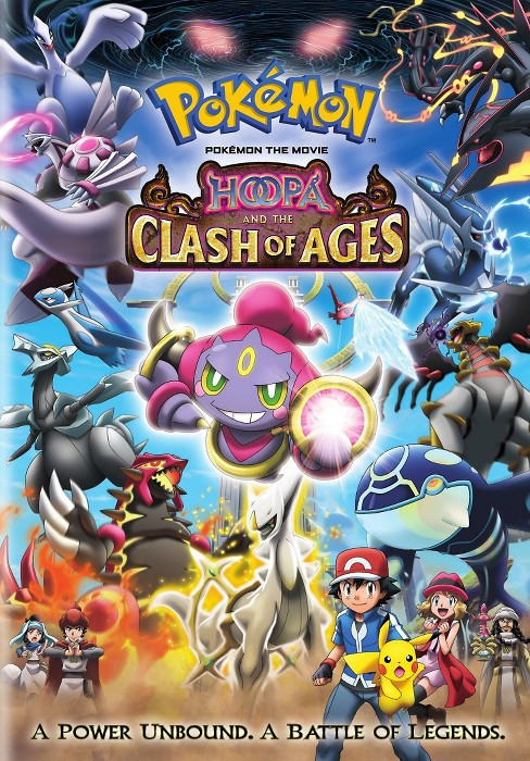 Pokemon the Movie: Hoopa and the Clash of Ages (dvd_video) - image 1 of 1