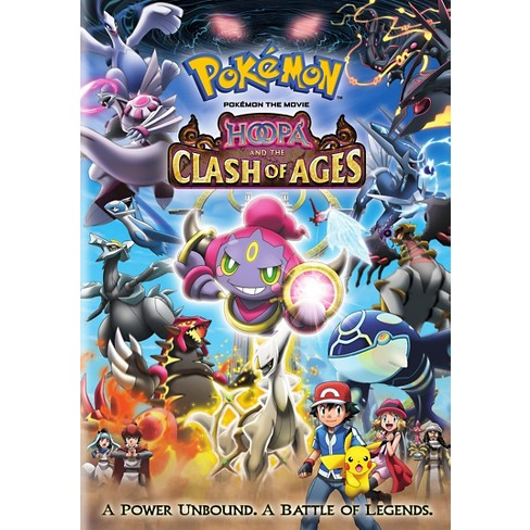 Pokemon The Movie Hoopa And The Clash Of Ages Dvd Video Target