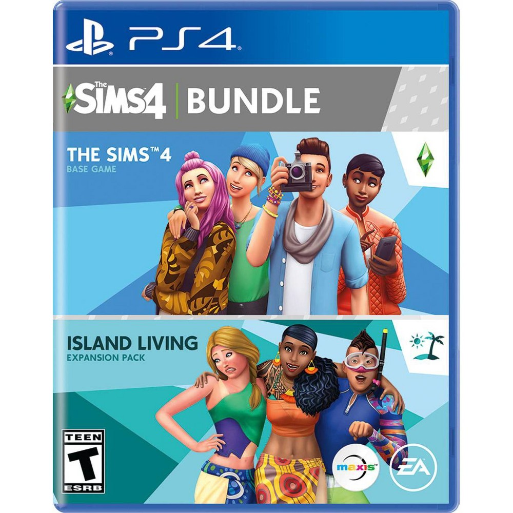 Sims 4 + Island Living - PlayStation 4 was $42.99 now $24.99 (42.0% off)