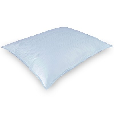 DOWNLITE Low Profile 250 TC 525 FP White Down Pillow - Stomach Sleepers Only Very Flat