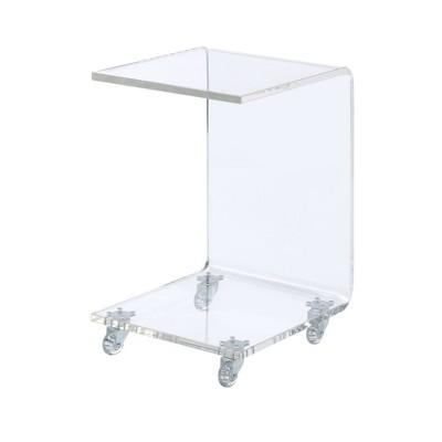 Peek Acrylic Snack Table Clear - Picket House Furnishings