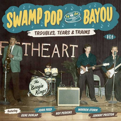 Various - Swamp pop by the bayou:Troubles tears (CD) - image 1 of 1