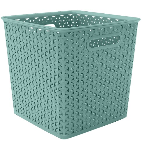 "Y-Weave Basket Bin - 11"" - Room Essentials™ - image 1 of 1"