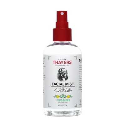 Thayers Witch Hazel Alcohol Free Toner Facial Mist - Cucumber -  8 fl oz