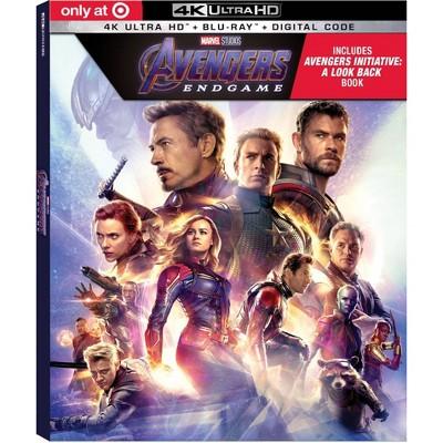 Avengers Endgame (Target Exclusive)(4K/UHD + Blu-Ray + Digital)