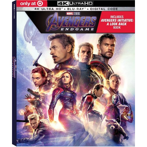 Avengers Endgame (Target Exclusive) (4K/UHD + Blu-Ray + Digital) - image 1 of 3