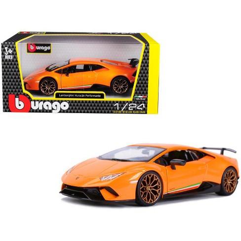 Lamborghini Huracan Performante Metallic Orange 1/24 Diecast Model Car by Bburago - image 1 of 1