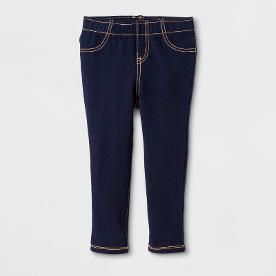 Toddler Girls' Jeggings - Cat & Jack™ Navy 12M