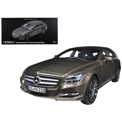 2012 Mercedes CLS 500 Wagon Shooting Brake Indium Grey 1/18 Diecast Car Model by Norev - image 1 of 1