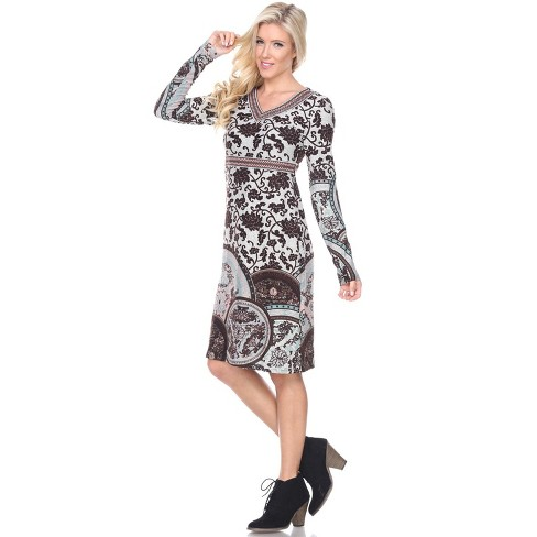 Women's Naarah Embroidered Sweater Dress - White Mark - image 1 of 3