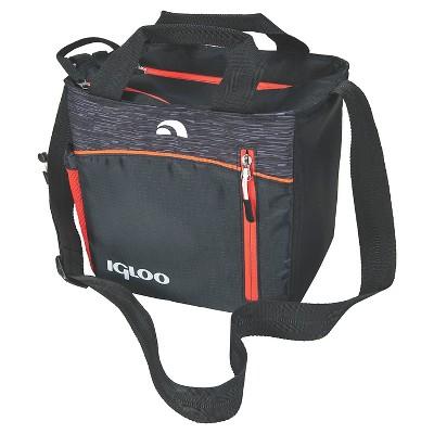 Igloo Stowe Mini City Cooler Lunch Bag Black
