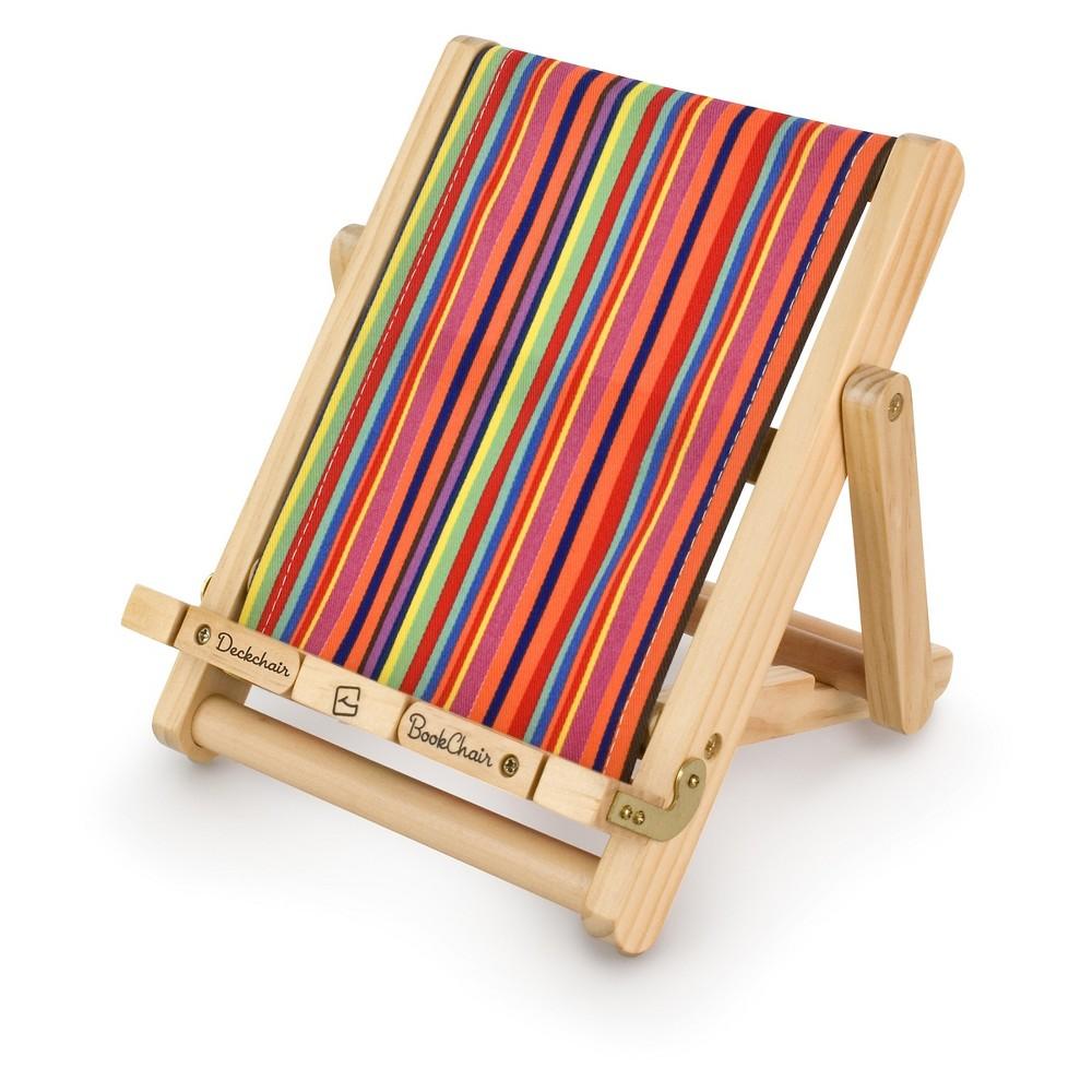 Thinking Gifts Deckchair Book Chair - Striped