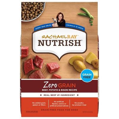 Rachael Ray Nutrish Zero Grain Beef, Potato and Bison Dry Dog Food