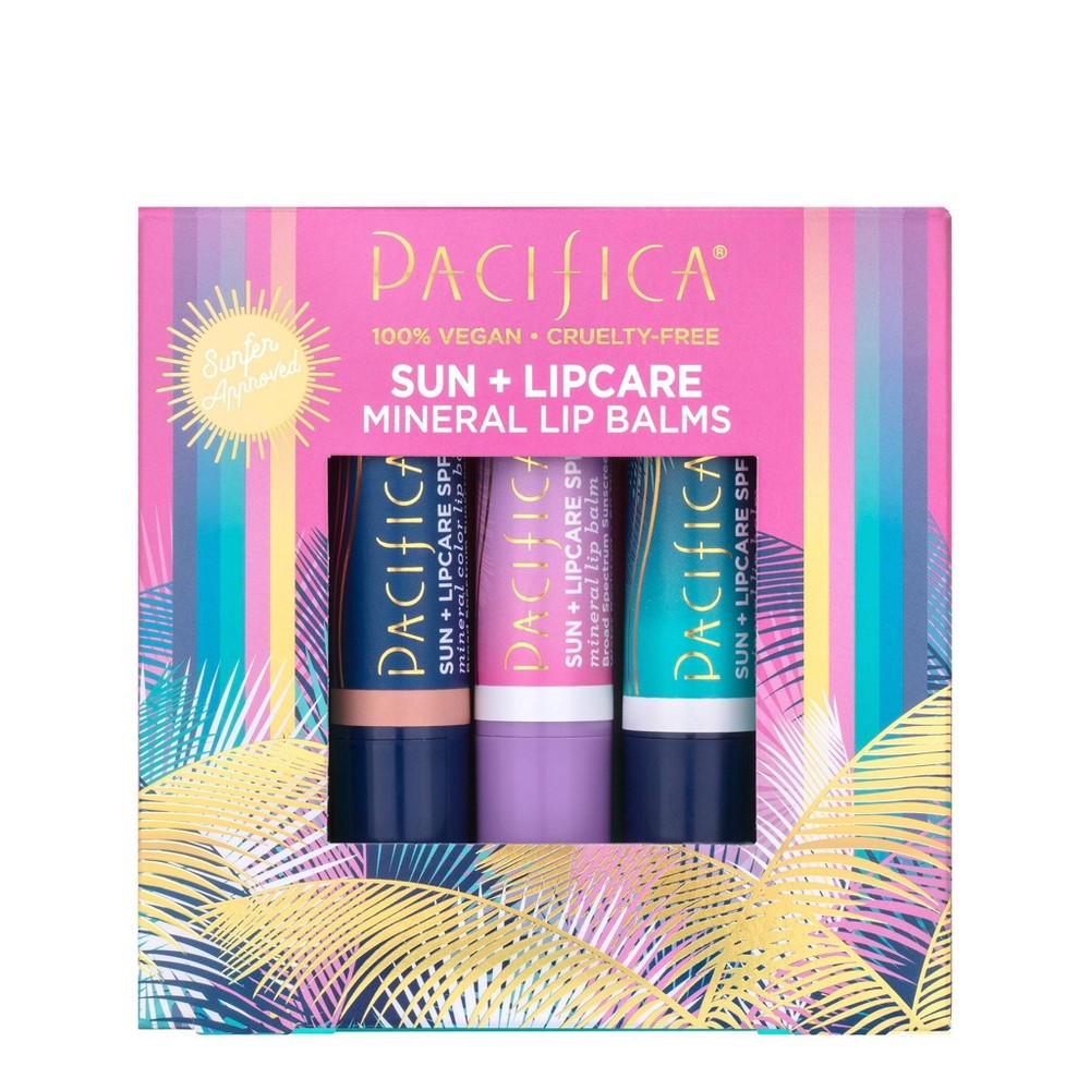 Image of Pacifica Broad Spectrum Protection Suncare Set - SPF 15 - 0.45oz