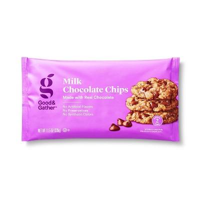 Milk Chocolate Morsels - 11.5oz - Good & Gather™
