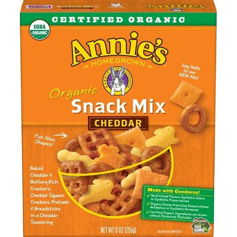 Annie's Organic Cheddar Snack Mix - 9oz - image 1 of 3