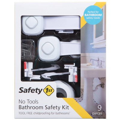 Safety 1st No Tools Bathroom Safety Kit
