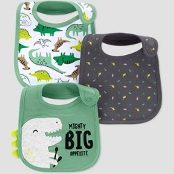 Baby Boys' 3pk Dino Bib - Just One You® made by carter's Green
