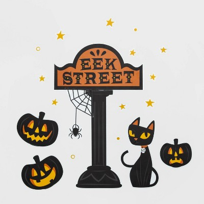 "Eek Street Halloween Wall Art (27.75""x9.75"") - Hyde & EEK! Boutique™"