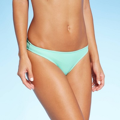 Juniors' Ribbed Cheeky Bikini Bottom - Xhilaration™