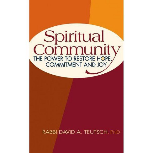 Spiritual Community - by  David A Teutsch (Hardcover) - image 1 of 1