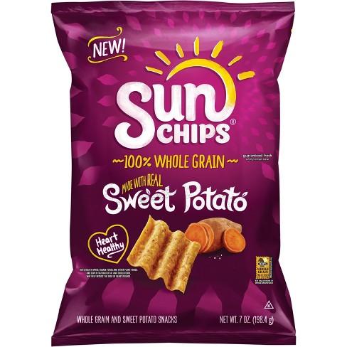 sunchips 100 whole grain sweet potato 7oz target