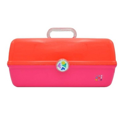 Caboodles Ultimate On-The-Go-Girl Makeup Organizer - Orange - XL