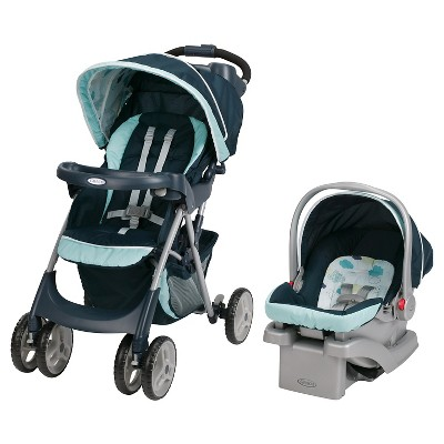 Graco® Comfy Cruiser Click Connect Travel System - Stratus