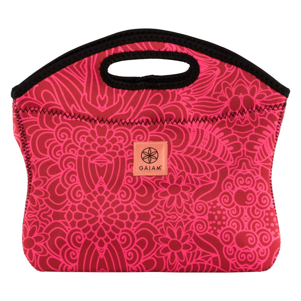Image of Gaiam Lunch Clutch - Watermelon Abstract, Red