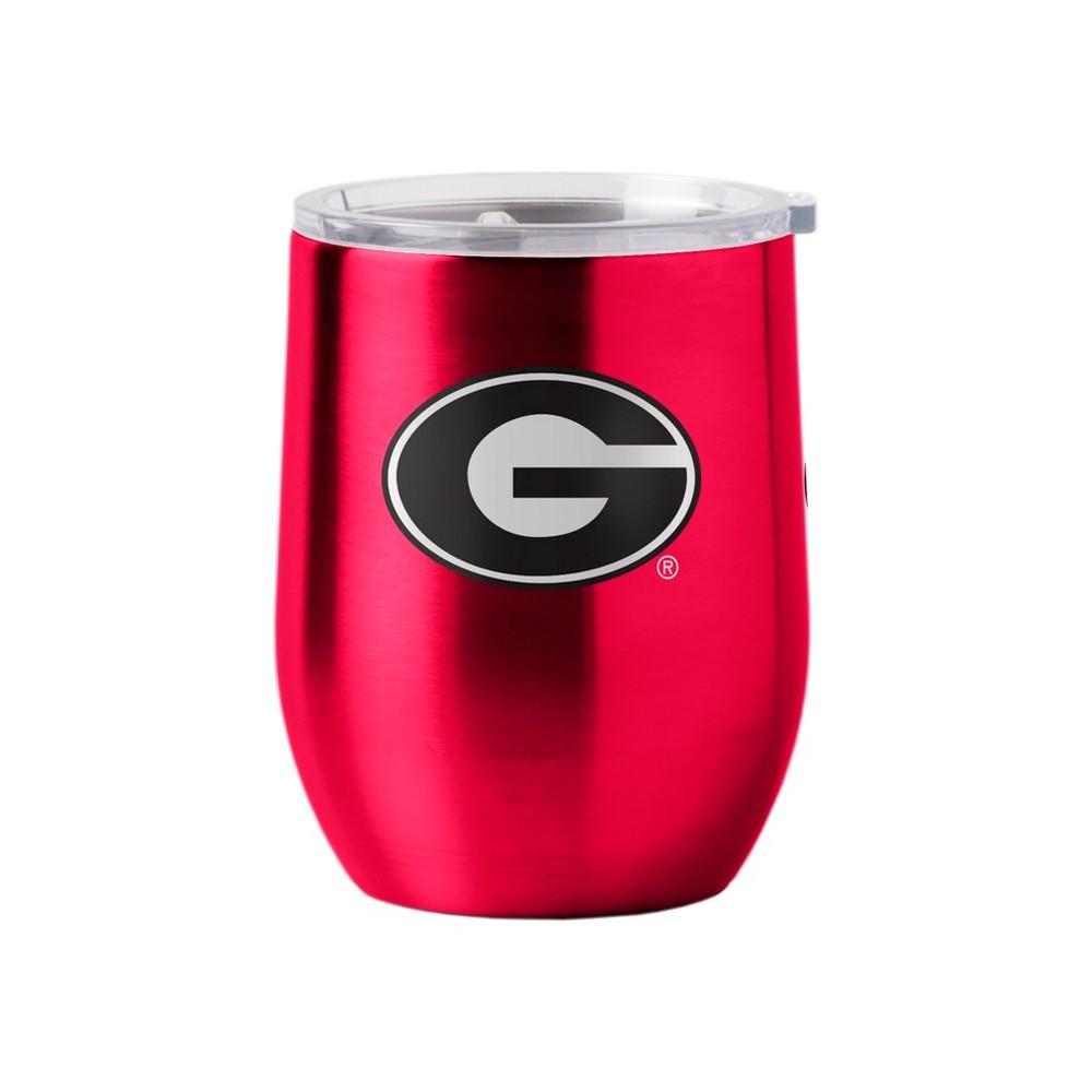 Georgia Bulldogs Stainless Steel Ultra Curved Wine Tumbler - 16oz