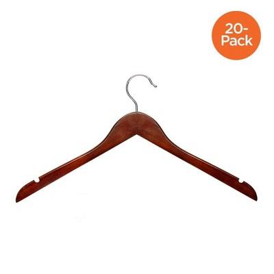 Basic Shirt Hanger - Cherry (20pk)