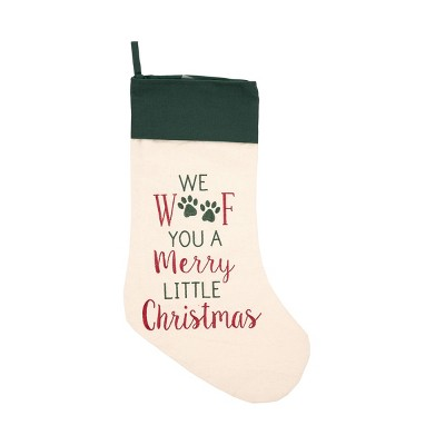 C&F Home Merry Woofmas Stocking