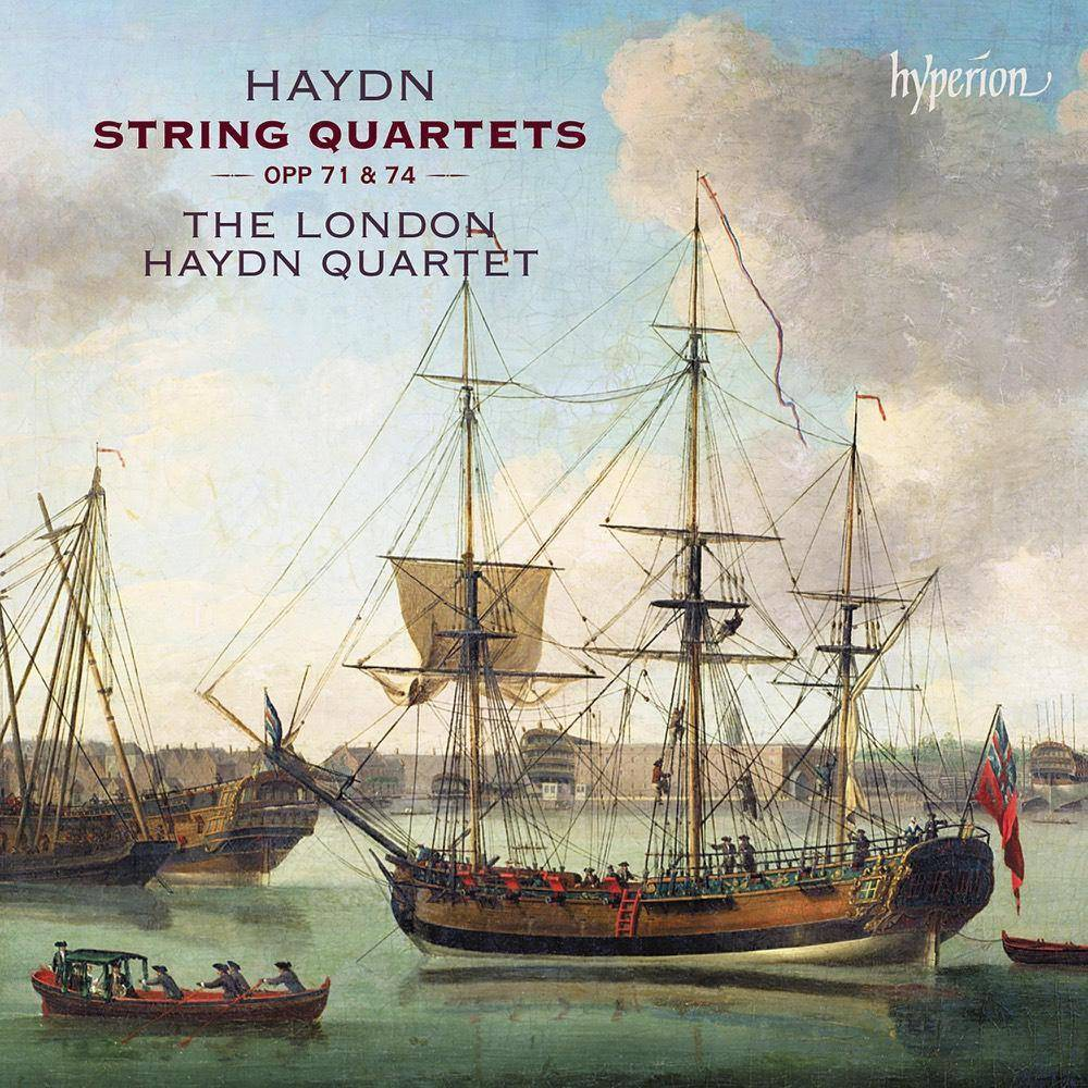 London Haydn Quartet Haydn String Quartets Opp 71 74 Cd