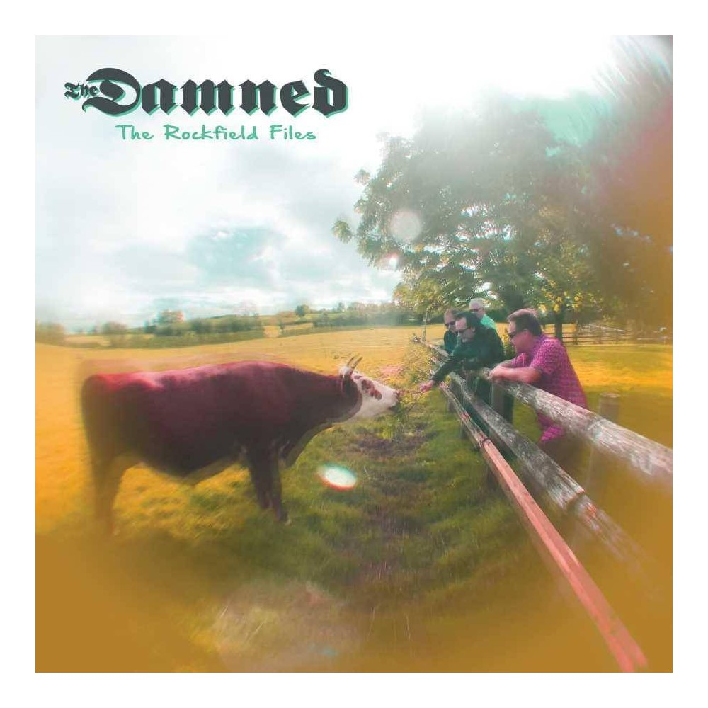 The Damned The Rockfield Files Ep Lp Vinyl