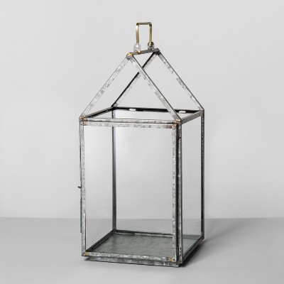 Galvanized House Lantern Large - Hearth & Hand™ with Magnolia