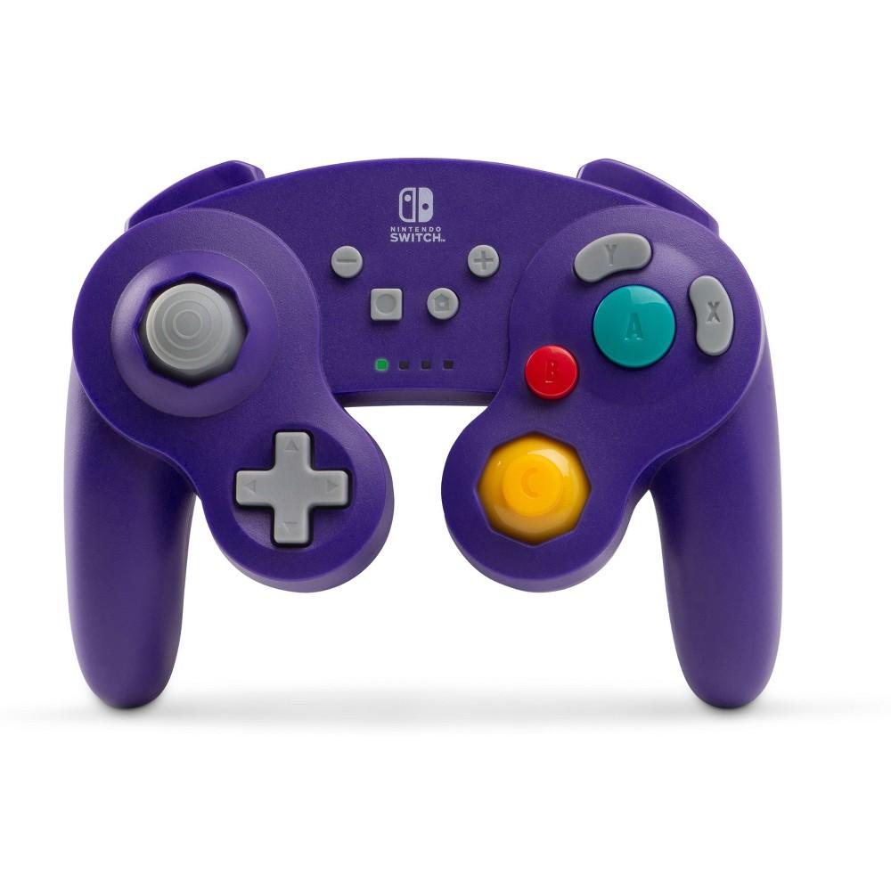 PowerA Wireless GameCube Controller for Nintendo Switch - Purple