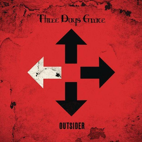 Three Days Grace - Outsider (CD) - image 1 of 1