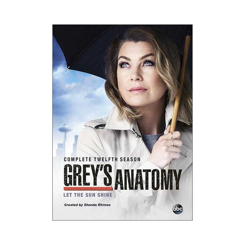 Grey's Anatomy - Season 12 (Dvd)