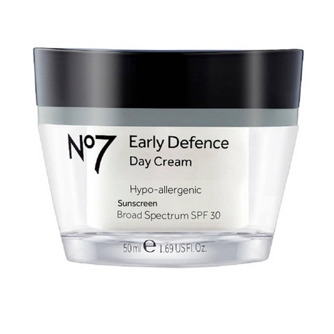 No7 Early Defence Day Cream SPF 30 - 1.69 fl oz - image 1 of 4