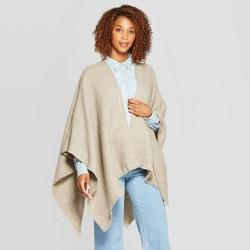 Women's Woven Essential Ruana - Universal Thread™