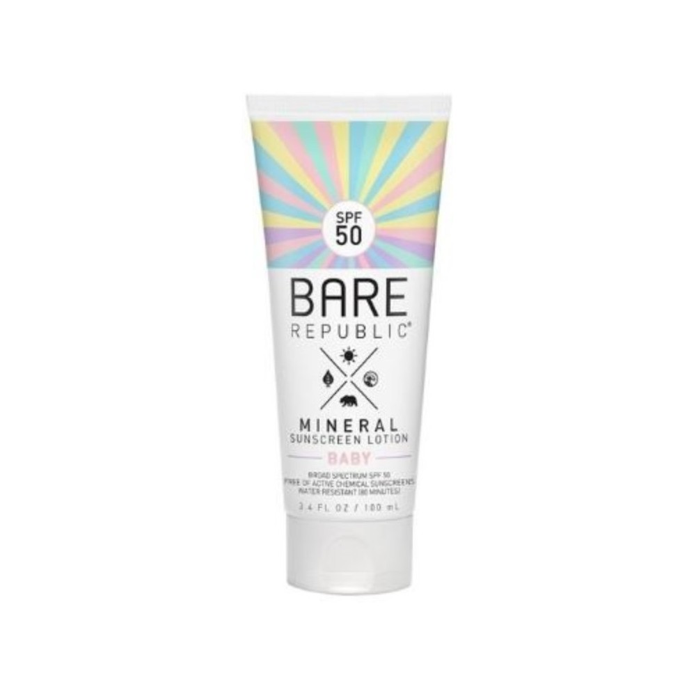 Bare Republic Sunscreens Broad Spectrum Protection - Spf 50 - 3.4oz