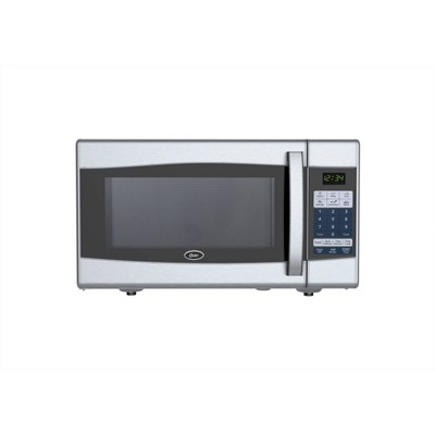 Oster 0.9 Cu. Ft. 900 Watt Digital Microwave Oven - Black & Stainless Steel - OGXE0901