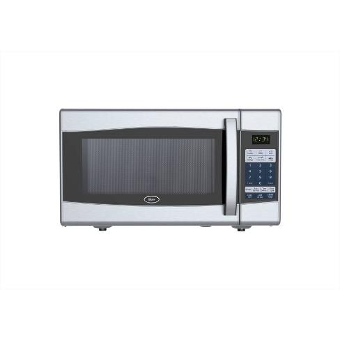 Oster 0.9 Cu. Ft. 900 Watt Digital Microwave Oven - Black & Stainless Steel - OGXE0901 - image 1 of 4