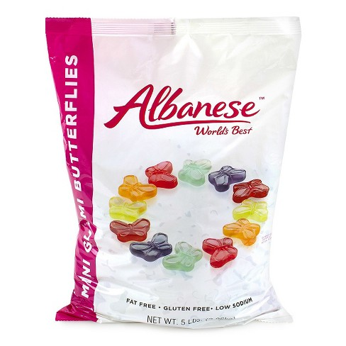 Albanese Mini Gummi Butterflies - 5lbs - image 1 of 1