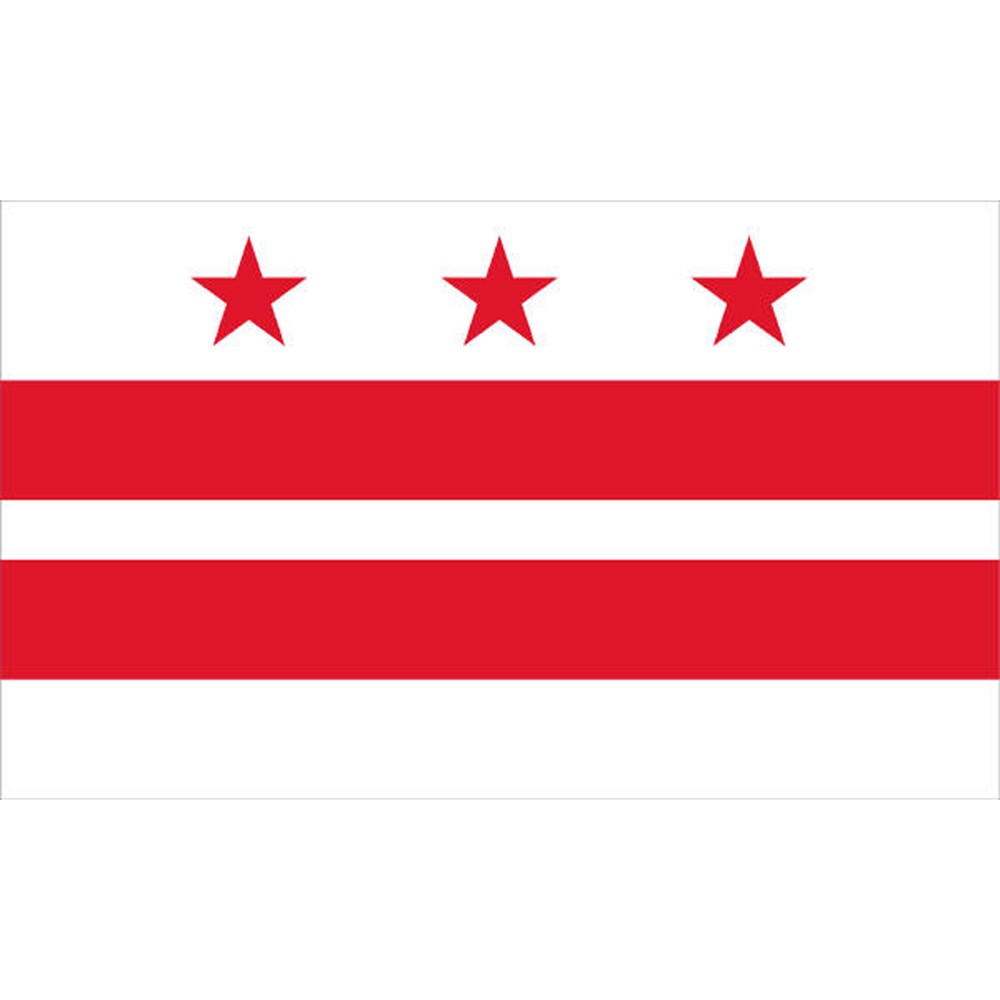 Image of Halloween District of Columbia Flag - 4' x 6'