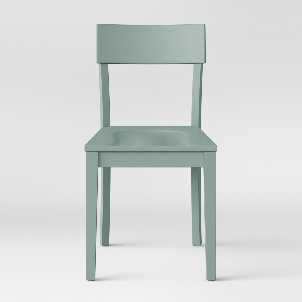 Bethesda Modern Dining Chair Mint (Green) (Set of 2) - Project 62