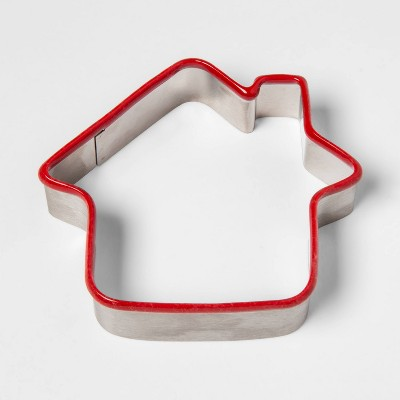 Stainless Steel Holiday Gingerbread House Cookie Cutter - Threshold™