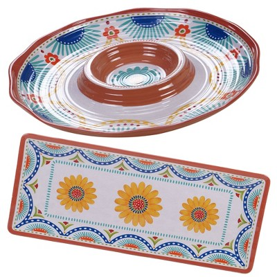 Vera Cruz 2pc Melamine Hostess Set - Certified International