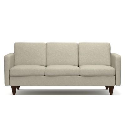 Carlyle Mid Century Modern Sofa Barley Tan   Handy Living