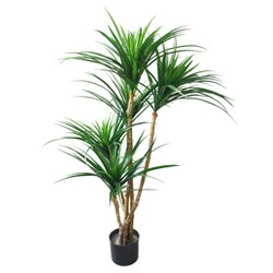Pure Garden 4.3ft Tropical Yucana Artificial Tree